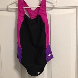 Girls Speedo one piece swimsuit